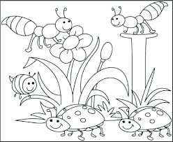 Spring Coloring Sheets Free Printable Pages To Print Kids Activities Springtime Pictures Full Size