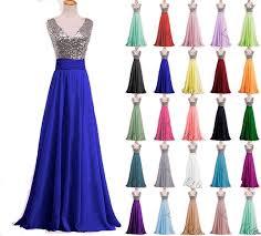 amazon com momoai women u0027s deep v neck sequins prom dress long