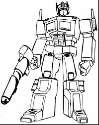 Superb Transformers Printable Coloring Pages With Page