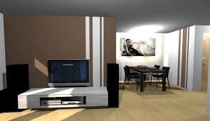 wohnzimmer farben brauntone caseconrad