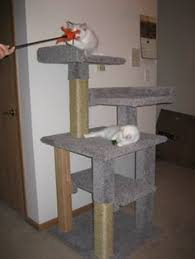 free diy woodworking plans to build a cat tree free cat tree plan