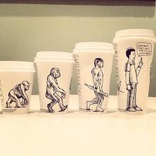 Cartoonist Turns Coffee Cups Into Comics To Brighten Your Morning
