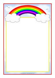 Simple Flower Border Designs For A4 Paper Butterflies Pop Up Design