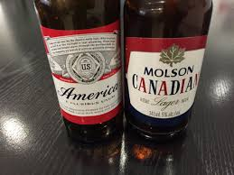 Molson Canadian vs Budweiser America the great beer battle I