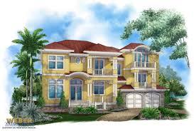 100 Beach Home Floor Plans House Plan 3 Story Tropical Caribbean