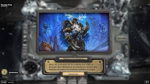 Paladin Deck Lich King by The Lich King Boss Guide The Frozen Throne Frozen Throne