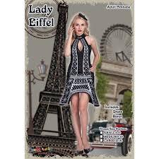 EraSpooky Women's Halloween Eiffel Tower Costume: Amazon.co.uk: Clothing