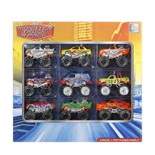 Monster Truck 9 Pack | Kmart 112 24ghz Remote Control Rc Monster Truck Blue Best Choice Hot Wheels Jam Iron Warrior Shop Cars Trucks Amazoncom Shark Diecast Vehicle 124 9 Pack Kmart Maximum Destruction Battle Trackset Toys Buy Online From Fishpdconz Toy Monster Truck On White Background Stock Photo 104652000 Alamy Whosale Car With For Children Old World Christmas Glass Ornament Sbkgiftscom Grave Digger Rc Lowest Prices Specials Makro 36 Pull Back And Push Friction