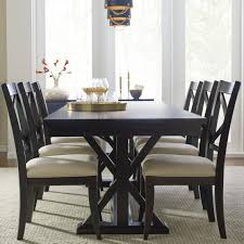 Overstock Dining Room Furniture Best Of Everyday Trestle Table And 6 Upholstered Chairs By Rachael