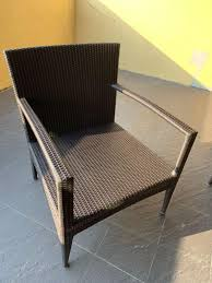 Outdoor Patio Chairs X 4, Furniture, Tables & Chairs On ...
