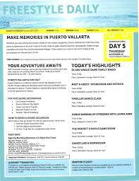 Norwegian Jewel Deck Plan 5 by Norwegian Jewel Mexican Riviera Dailies November 8 2015 Sailing