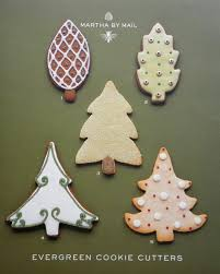 Martha By Mail Evergreen Tree Cookie Cutters