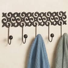 Decorative Metal Garment Rack by Unique Wall Hooks Brass Hardware Modern Single Coat Hook