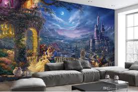 großhandel europäisches retro hintergrund karikatur schloss des wohnzimmer schlafzimmer 3d die speisende industrie verziert den hintergrund