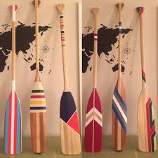Decorative Wooden Oars And Paddles by Oars Hand Painted Canoe Paddle Canoe Oar Home Decor