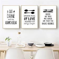 nfxoc küchengeschirr poster und drucke wandkunst dekorative