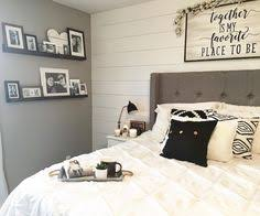 Master Bedroom Decor Black And White Modern Farmhouse Style