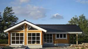 chalet maison en kit maison bois en kit carla 100m 120m ou 150m