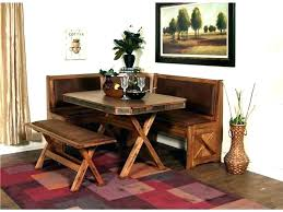 Dining Tables And Bench Sets Kitchen Table Set With Corner