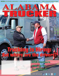 Alabama Trucker, 4th Quarter 2017 By Alabama Trucking Association ...