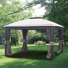 Replacement Canopy For AR Wicker Gazebo - RipLock 350 Garden Winds Garden Sunjoy Gazebo Replacement Awnings For Gazebos Pergola Winds Canopy Top 12x10 Patio Custom Outdoor Target Cover Best Pergola Your Ideas Amazing Rustic Essential Callaway Hexagon Patios Sears