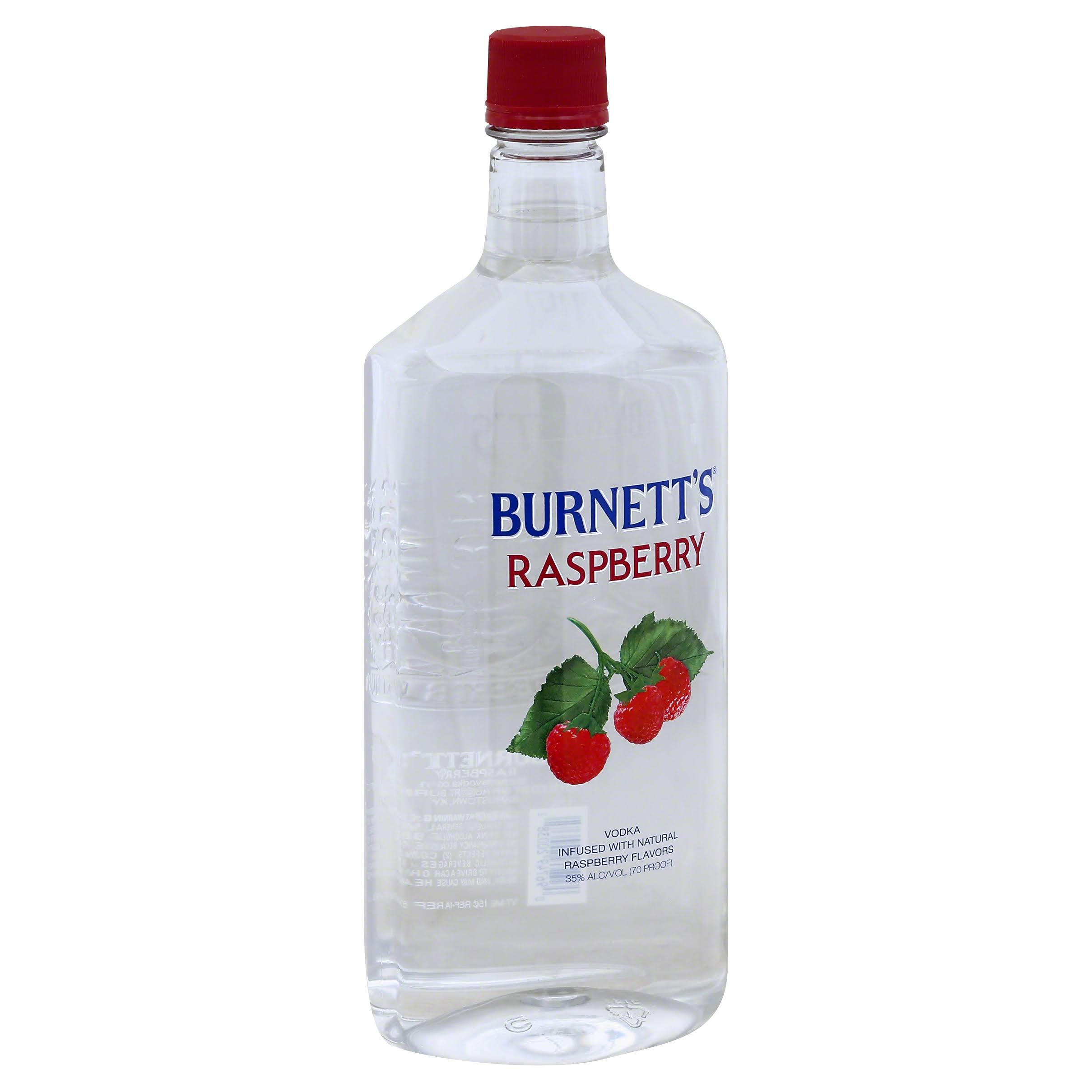 Burnett's Flavored Vodka - Raspberry - 1.75L