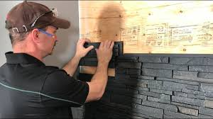 how to install faux wall panels