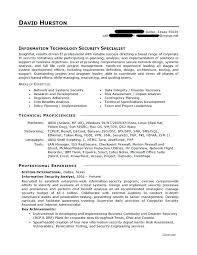 It Resume Examples 2016 Information Technology Template Best