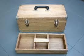 wood tool box wood turned lidded vessels