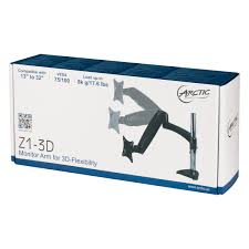 Desk Mount Monitor Arm Philippines by Arctic Z1 3d Desk Mount Monitor Arm With 4 Ports Usb 3 0 Hub