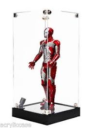 Image Is Loading LED Spotlight Acrylic Display Case 12 Inch Figure