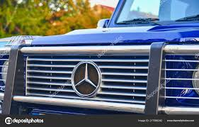 100 German Trucks Mercedes Benz Logo On Blue Car SUV MercedesBenz Is A
