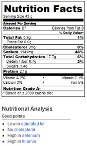 Glazin Raisin Pretzels Calories And Nutrition Facts