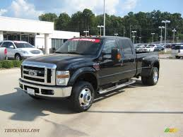 2008 Ford F350 Super Duty Lariat Crew Cab 4x4 Dually In Black ...