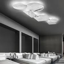 studio italia design puzzle mega ø 80cm wand deckenle marmor