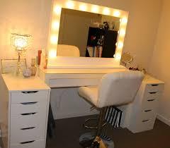 mirror luxury and vanity mirror with light bulbs