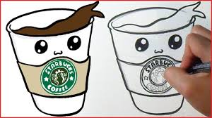 Top Starbucks Drawing Stock Of To Print Out