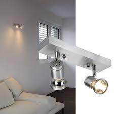wandleuchten slv aluminium gu10 schlafzimmer schwarz