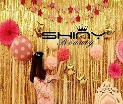 Foil Fringe Curtain Singapore by Magideal Plastic Metallic Fringe Door Window Curtain Wedding Party
