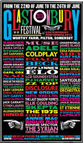 Festival Posters 2016 Glastonbury