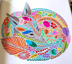 Animal Kingdom Colouring Book Fox Interview With Milliemarotta Illustrator Of Adult