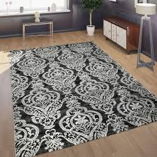 tapijten orient teppich modern meliert ornamente türkis