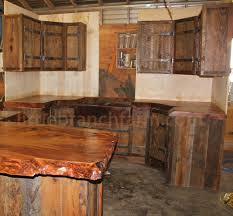 Rustic Style Kitchen From Reclaim Wood
