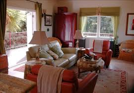 Red Country French Living Rooms by French Country Beach House Vrbo
