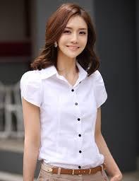 sales blusas 2015 new women u0027s fashion office shirt lapel puff