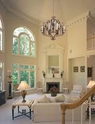 high ceiling living room living room traditional with crown