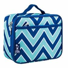 Zigzag Lucite Lunch Box