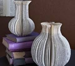 Turn Old Books Into A Classy Vase Free Tutorial With Pictures On How To
