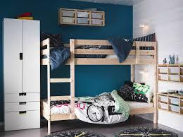 Norddal Bunk Bed by Ein Kinderzimmer Mit Mydal Etagenbettgestell In Kiefer Und Stuva