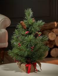Realistic Artificial Christmas Trees Nz by 1 5ft Mini Christmas Tree M U0026s